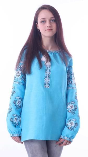 Вишита блузка «Троянди» - Косівська Вишиванка