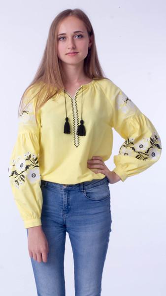 Вишита блузка 0078 - Косівська Вишиванка