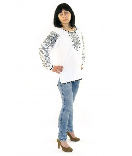Вишита блузка «Елегія» - Косівська Вишиванка