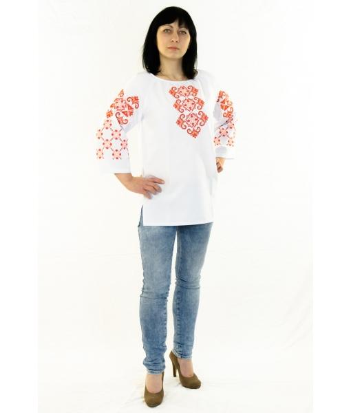 Вишита блузка «Чарівність» - Косівська Вишиванка