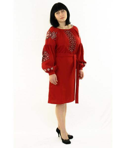 Вишита сукня - бохо - Косівська Вишиванка