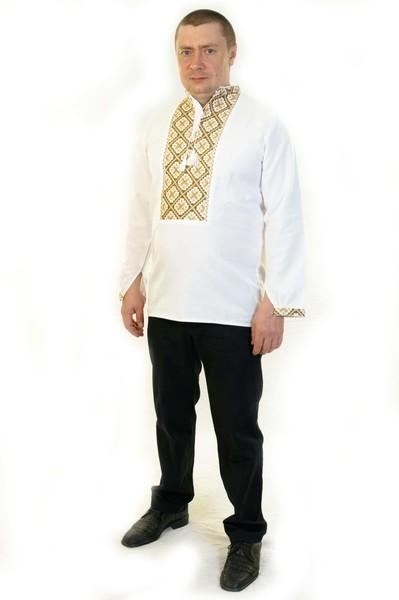 Чоловіча вишиванка 001 - Косівська Вишиванка