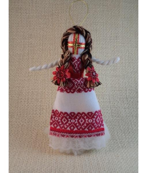 Лялька-мотанка 15 см - Косівська Вишиванка
